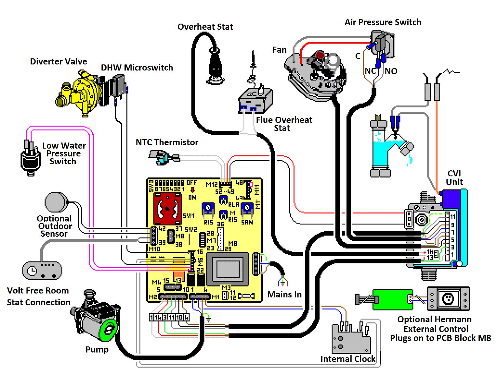Ask Vaillant Domestic Boilers Air Pressor Wiring Diagram
