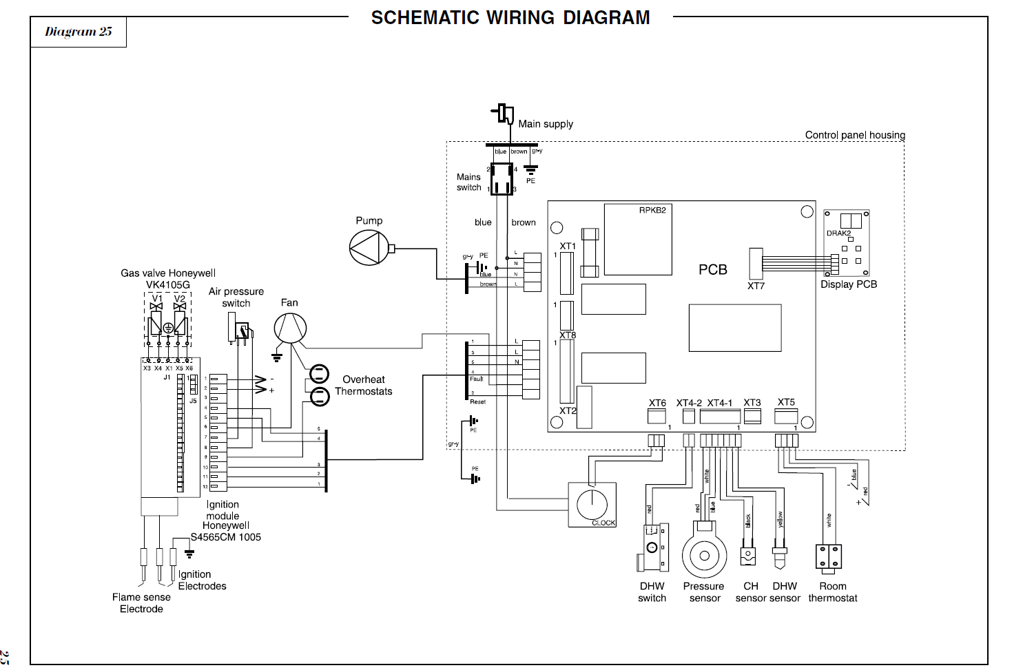 Ask Vaillant Domestic Boilers Honeywell Ignition Module Wiring Diagram Diagrams