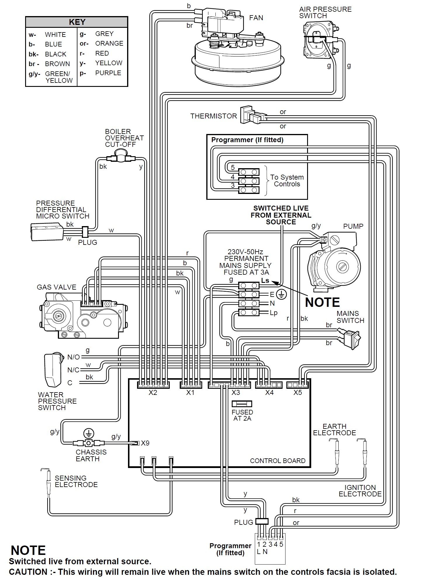 Ask Vaillant Domestic Boilers Air Pressor Wiring Diagram